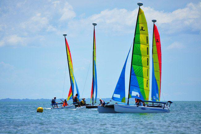 Anhawan Beach Resort and Spa now offers sailing!